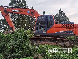 湖北-潜江市二手斗山DX215-9C挖掘机实拍照片