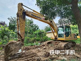 聊城小松PC200-8挖掘機實拍圖片