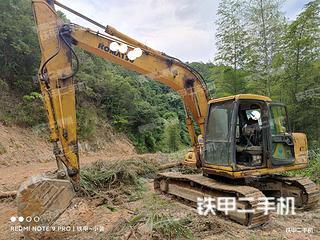 龍巖小松PC120-6E挖掘機實拍圖片