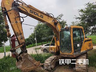 山東臨工LG6135E挖掘機實拍圖片
