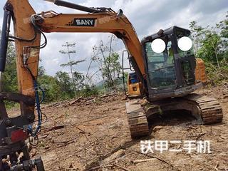 云南-普洱市二手三一重工SY75C挖掘机实拍照片
