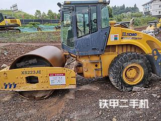 四川-广元市二手徐工XS202JE压路机实拍照片