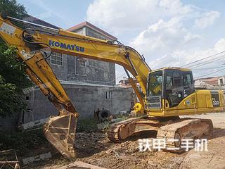 惠州小松PC220-7挖掘機實拍圖片