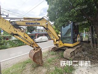 安徽-滁州市二手小松PC56-7挖掘机实拍照片