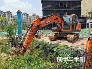 四川-广安市二手斗山DX130-9C挖掘机实拍照片