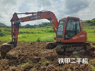 贵州-安顺市二手斗山DH80GOLD挖掘机实拍照片