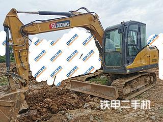 贵州-贵阳市二手徐工XE75DA挖掘机实拍照片