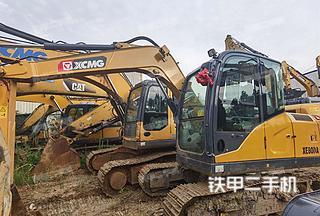 湖南-湘西土家族苗族自治州二手徐工XE75DA挖掘机实拍照片