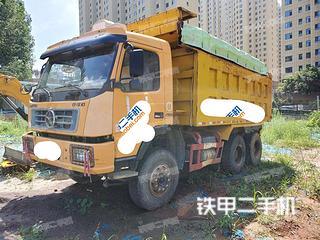聊城東風6X4工程自卸車實拍圖片