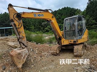 贵州-贵阳市二手徐工XE60挖掘机实拍照片