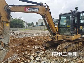 贵州-毕节市二手徐工XE60DA挖掘机实拍照片