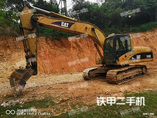 惠州卡特彼勒320C挖掘機實拍圖片