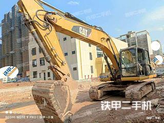 龍巖卡特彼勒320D液壓挖掘機實拍圖片