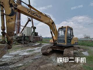 二手玉柴 YC135-8 挖掘机转让出售