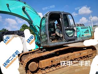 湖南-湘潭市二手神钢SK260LC-8挖掘机实拍照片
