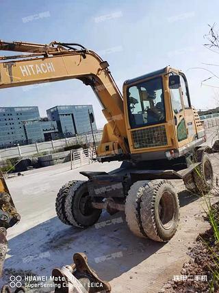 廣州新源XY90挖掘機實拍圖片