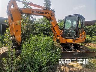 龍工LG6060D挖掘機實拍圖片