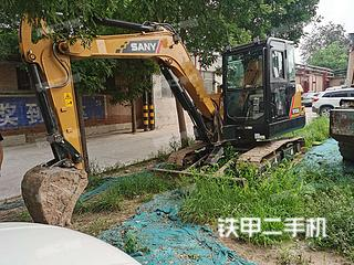 太原三一重工SY55C挖掘機實拍圖片