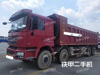 聊城陜汽重卡8X4工程自卸車實拍圖片