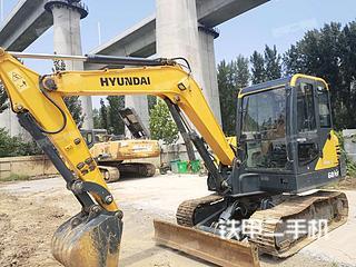 河南-郑州市二手现代R 60VS挖掘机实拍照片
