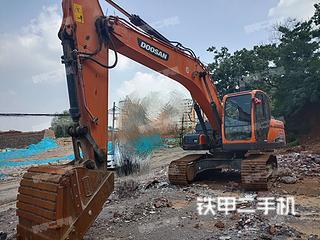 斗山DX215-9CN挖掘機實拍圖片