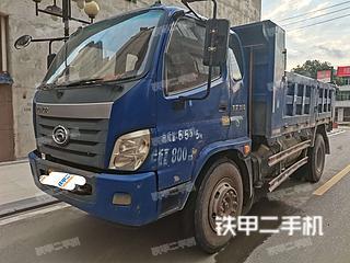 福田欧曼4X2工程自卸车实拍图片