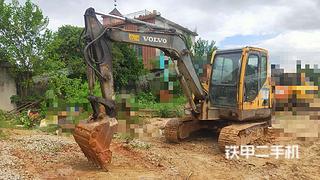 南昌沃爾沃EC55B挖掘機實拍圖片