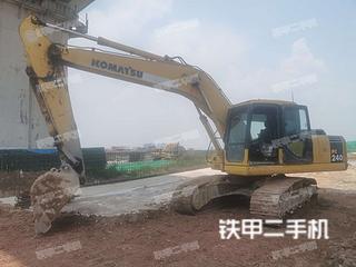 惠州小松PC200-7挖掘機實拍圖片