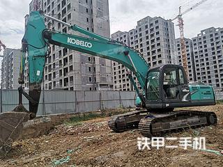 淄博神钢SK210LC-8挖掘机实拍图片