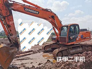 四川-广安市二手斗山DX260LC挖掘机实拍照片