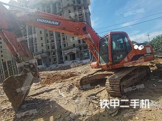 山东-烟台市二手斗山DH225LC-7挖掘机实拍照片
