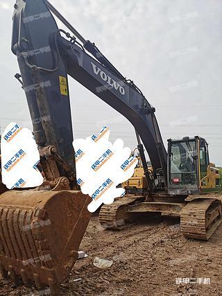 太原沃爾沃EC250DL挖掘機實拍圖片