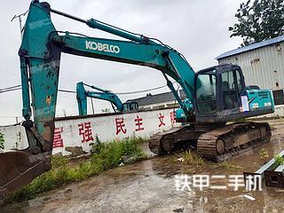 合肥神鋼SK200-8挖掘機實拍圖片