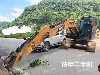 湖南-张家界市二手三一重工SY135C挖掘机实拍照片