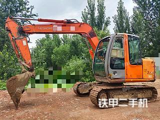 聊城日立ZX70挖掘機實拍圖片