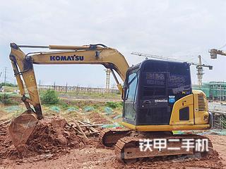江西-鹰潭市二手小松PC60-8挖掘机实拍照片