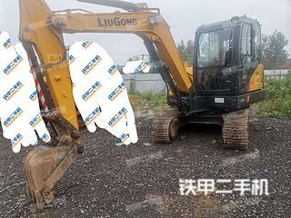 邢臺柳工CLG906E挖掘機實拍圖片
