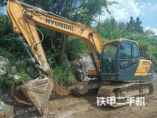二手现代 R150LVS 挖掘机转让出售