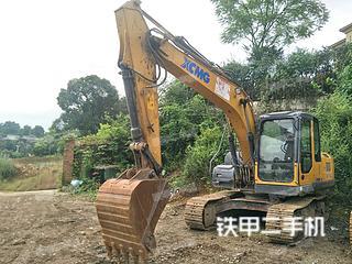 四川-成都市二手徐工XE135D挖掘机实拍照片