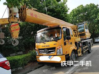 南京中國重汽25噸五節臂起重機實拍圖片