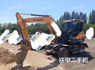 現代R60WVS挖掘機實拍圖片
