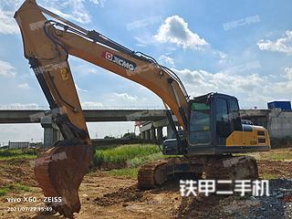 徐工XE205DA挖掘機實拍圖片