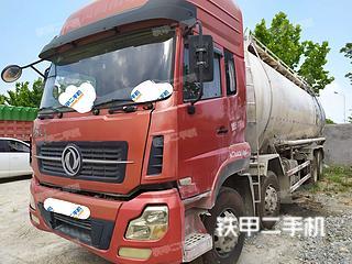 聊城東風8X4工程自卸車實拍圖片