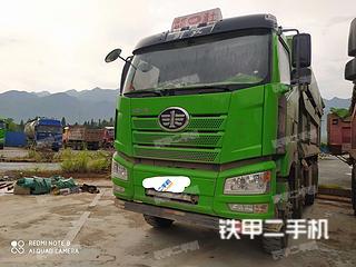 聊城一汽解放8X4工程自卸車實拍圖片