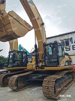 深圳卡特彼勒336DL挖掘機實拍圖片