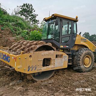 陕西-西安市二手徐工XS263JS压路机实拍照片