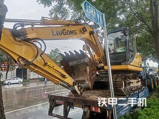 邢臺柳工CLG915D挖掘機實拍圖片