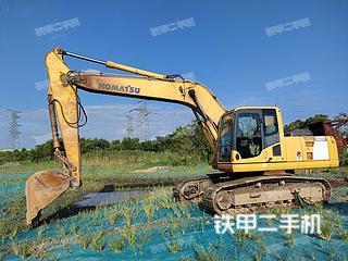 安徽-芜湖市二手小松PC220-8挖掘机实拍照片