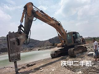 許昌現代R385LC-9T挖掘機實拍圖片