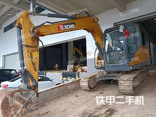 安徽-六安市二手徐工XE75DA挖掘机实拍照片
